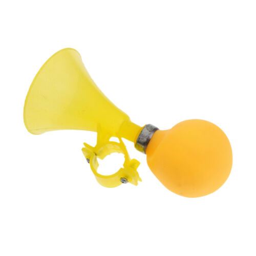 Kids Bike Cycle Alarm Bell Rubber Child Bicycle Squeeze Horn Toy Hooter Gift
