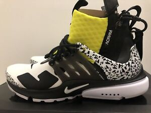 Utility Acronimo Ah7832 Dynamic Presto Us Nike 100 Nuovo Yellow 8 Air X 9 Mid Uk ZXwSx4xn