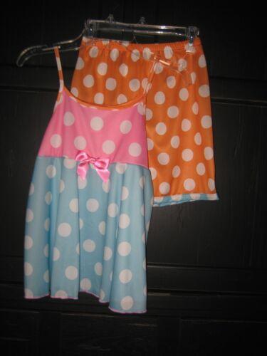 Fancy Girls Pajamas LAURA DARE 2T-14 Boutique Dots Flowers Ruffles Sleepwear
