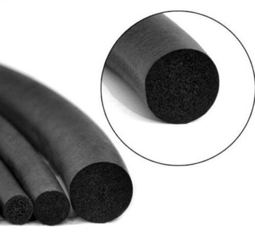US Stock 15mm Diameter 20 Feet Long EPDM Sponge Rubber Round Seal Strip