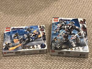 LEGO Avengers: Endgame Captain America And War Machine ...