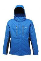 Regatta Men's Fraser Waterproof Jacket Coat Padded Raincoat Oxford Blue Rmp102