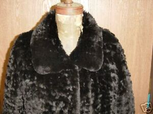 Orlyag Coat Knitted Jacket Dyed Black Amazingly Chinchilla Soft Lightweight qZzFxEww