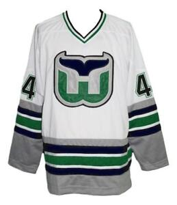 Custom-Name-Whalers-Retro-Hockey-Jersey-New-White-Pronger-Any-Size