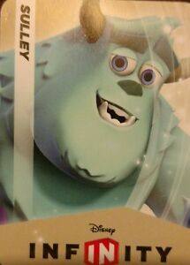 Disney Infinity 1 0 Monsters Inc University Sulley Web Code Card Ebay