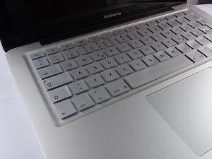 Cubierta-de-silicona-protector-teclado-macbook-air-pro-QWERTZ-plata