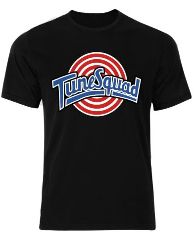 TUNE SQUAD Space Jam Looney Tunes BUGS BUNNY cartoon Basketball Hommes T Shirt AM28