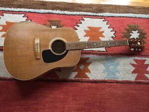 Vintage Art&Lutherie A&L Cedar Acoustic Electric Guitar