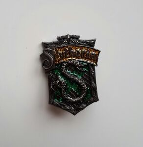 Perfect Image Is Loading Pin Badge Medal Harry Slytherin Hogwarts Glitter Brooch