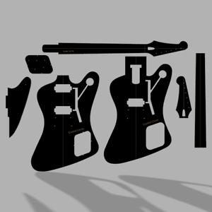 Gibson Firebird Studio Guitar Template MDF 0.50