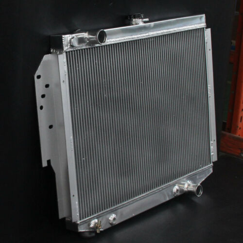 500 2ROW Aluminum Radiator For Chrysler Cordoba Dodge Aspen Plymouth V8 76-89