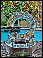 1 Chevy Gmc Cadillac Wheel Spacer | 6x5.5 | 1.5 Inch (38mm) | Fits Most 6 Lug