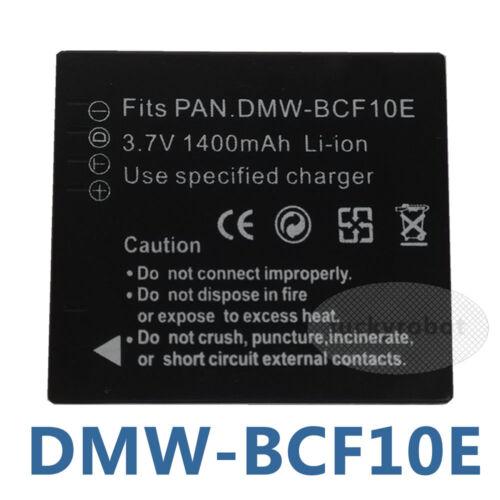DMW-BCF10E batería para PANASONIC LUMIX FS62 FS33 FX65 CGA-S//106C DMC-F2