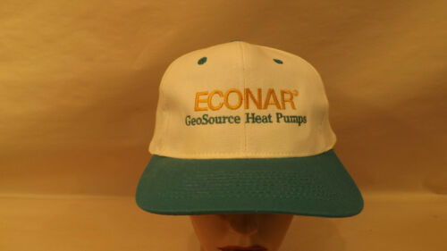 Vtg Econar//Geosystems GeoSource Heat Pumps Snapback Trucker Hat//Cap UNWORN