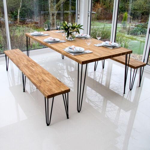 4 x 71cm Hairpin Legs Tischbeine Stuhlbein Möbelfüße Möbelbeine 3 Streben 12mm D