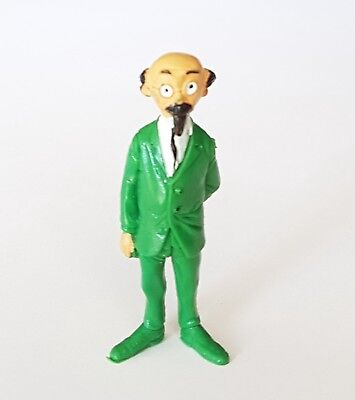 Figurine Collection Tintin Esso Belvision 1973 the Professor Sunflower 5 CM