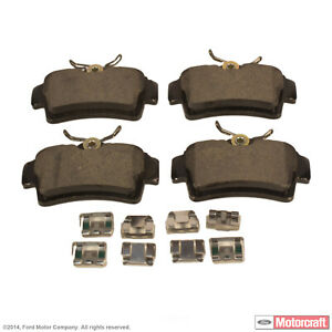 Standard Premium Integrally Molded Rear fits Mustang Disc Brake Pad Set-Pads