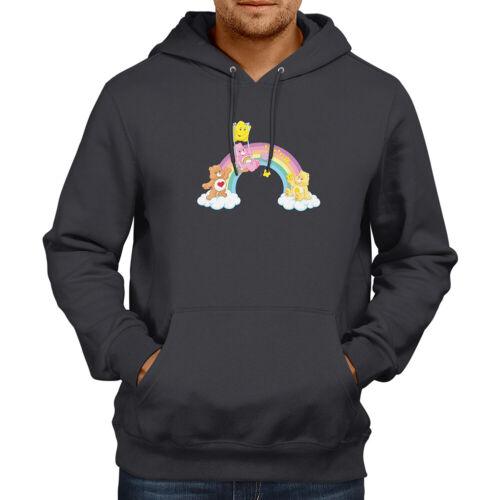 Care Bears arc en ciel amis Classic Cartoon Pullover Sweat Pull