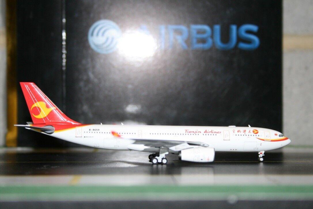 Panda Modelo skywings 1 400 Tianjin Airlines Airbus A330-200 B-8659 (SKY-PM-051)