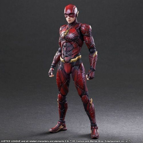 DC JUSTICE LEAGUE THE FLASH NO.2 SQUARE ENIX PLAY ARTS KAI  ACTION FIGURE