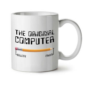 Sarcastic Computer NEW White Tea Coffee Mug 11 oz | Wellcoda