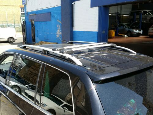 LOCKABLE CROSS BARS SET SWB LOADING 90 KG 4x FORD TRANSIT CUSTOM ROOF RAIL BARS