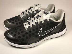 size 40 f8180 1513e Nike Lunarswift 2 Black White Mesh Running Sneaker Shoe Men's US 7 ...