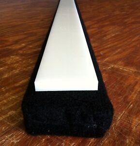 CHARCOAL Carpet BLACK HDPE Slides 2/' Boat Trailer Bunk Boards 2x4 1