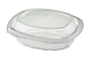 100 x 1000cc Euro Plastic Salad BOX PASTA FRUIT FAST FOOD PACKAGING (1919/2)