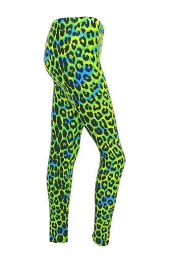 Free Style,Fashion,Leggins Leggings  Green Leopard psycho  Dance