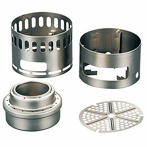 Kb10 EVERNEW EBY255 Ti Alcohol Stove DX Stand DX Stove Set Titanium NEW from Japan 342f79