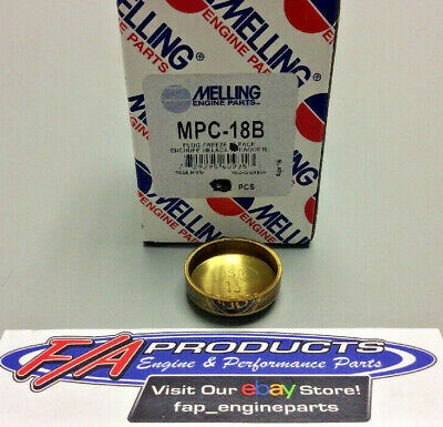 """Melling MPC-29B Brass 7//8/"""" Deep Cup Expansion Freeze Out Block Plugs"""