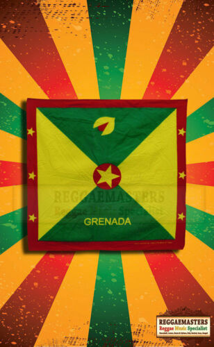 Grenada Flag Bandana Headscarf island of spice roots /& culture