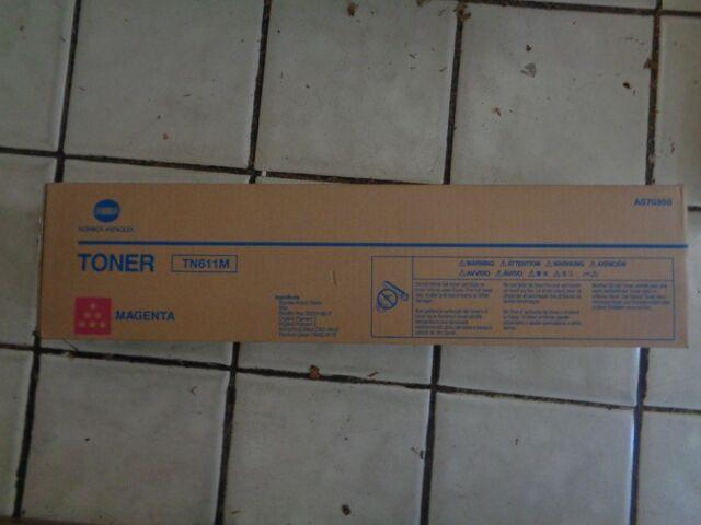 Genuine KONICA MINOLTA TN611M Magenta Toner BIZHUB C451 C550 C650 A070350