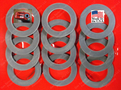 12 New Rubber Gaskets for Metal Jerry Can Caps 20L Gerry 5 Gallon Cans Military