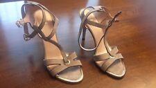 8d9a60c58de87d item 1 Stuart Weitzman Accent Grey Suede T-Strap Heeled Sandals Size 9M  -Stuart Weitzman Accent Grey Suede T-Strap Heeled Sandals Size 9M