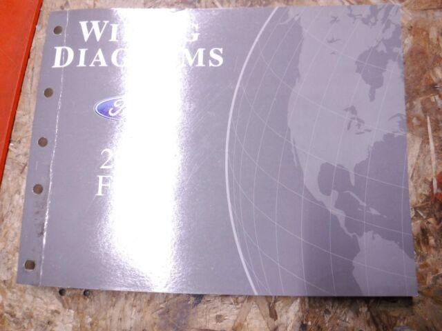 2009 Ford Flex Original Factory Wiring Diagrams Manual