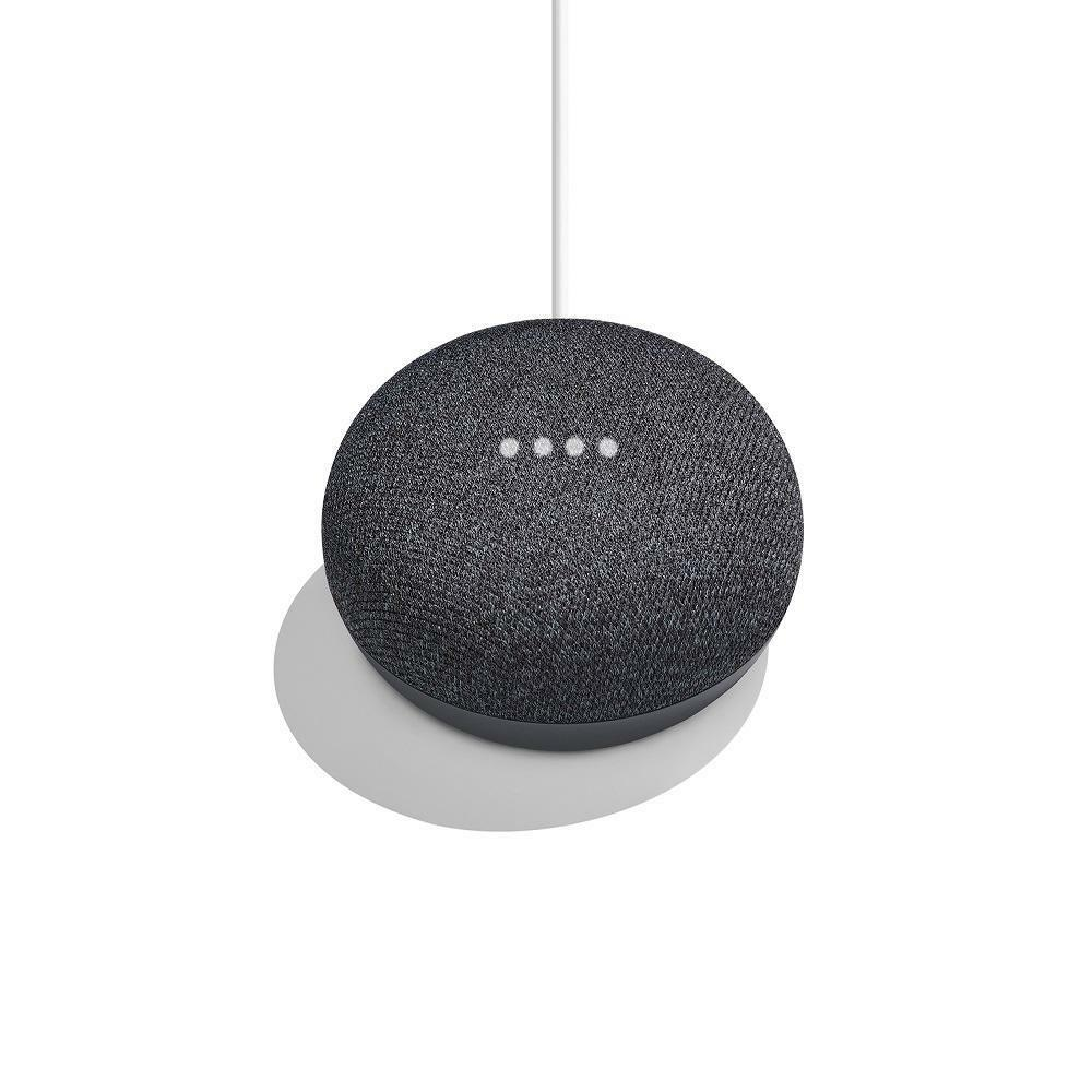 NEW Google Home Mini - Smart Assistant Small Speaker (Great Sound) Charcoal
