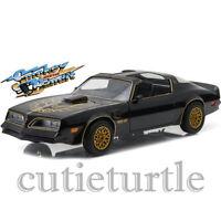 Greenlight Smokey And The Bandit 1977 Pontiac Trans Am 1:24 Diecast 84013 Black