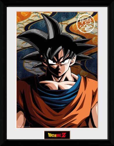 Dragon Ball Z Goku Anime Framed Poster Print Photo 40x30cm12x16 inches