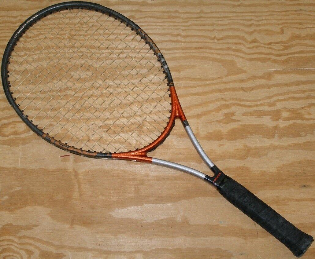 Cabeza Ti. radical  OverTalla 4 1 2 OverTalla 690 107 Hecho En Austria Raqueta De Tenis  marca en liquidación de venta