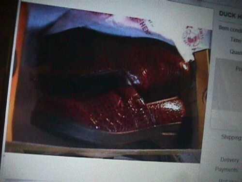 Duck Head Nursing Travail Sabots Rouge 10-M croco Becky Chaussures Pointure croco