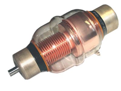 Russian Vacuum Variable Capacitor KP1-4 5-100 pF 25kV NEW