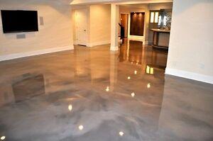 Details About Metallic Epoxy Resin Flooring Kit Black And White