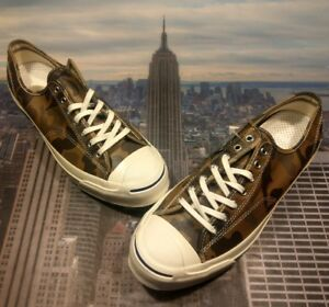 ddb84b0c8cb562 Converse JP Jack Purcell Signature Ox Low Top Camo Sand Dune Size ...