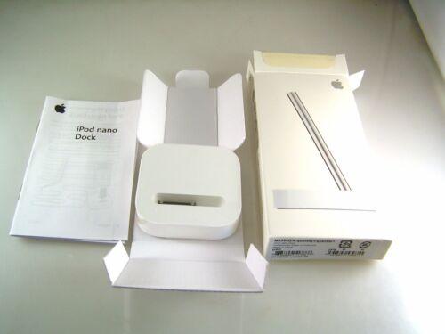 Apple iPod Nano Dock GENUINE MA594G//A Brand New Boxed OL0266