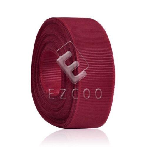 "10 Meters 1/""25mm Grosgrain Ribbon Craft Hair Bow Sewing Wedding Decor HCRN0029"