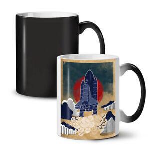 Rocket Galaxy Geek NEW Colour Changing Tea Coffee Mug 11 oz   Wellcoda