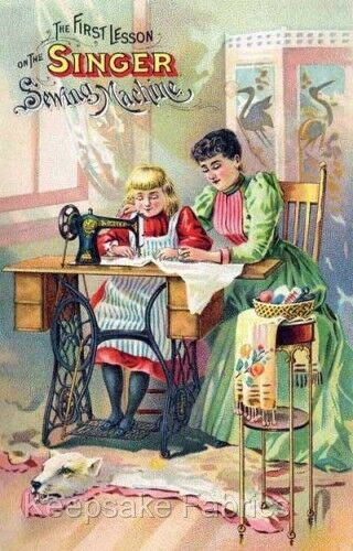 The Singer Sewing Machine Quilt Block Multi Sizes FrEE ShiPPinG WoRld WiDE