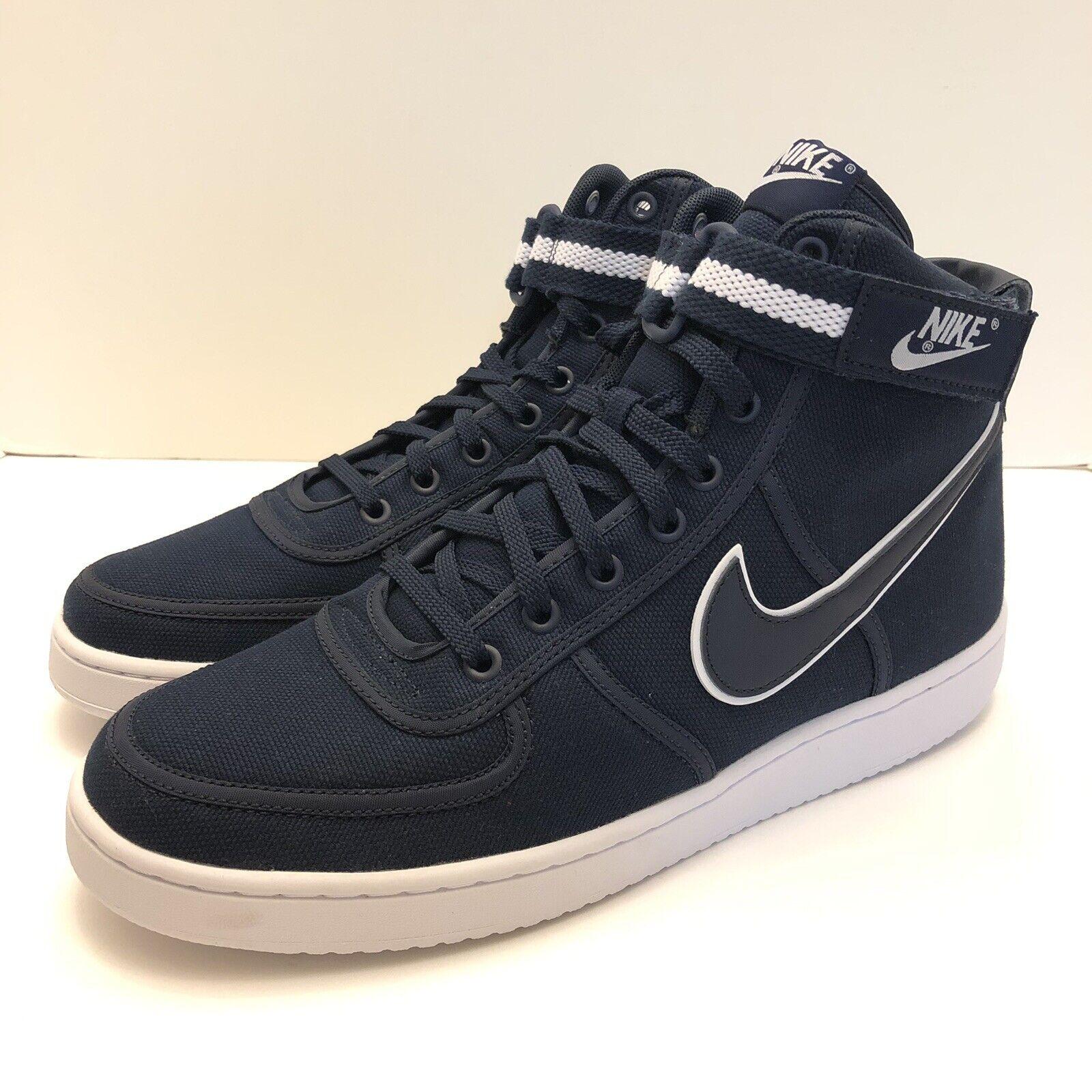 Nike Vandal High Supreme Casual shoes Obsidian White Mens Size 10.5 318330-402